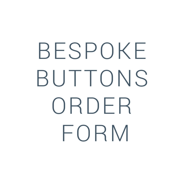 Bespoke Buttons Order Form